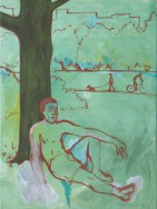 Der Buddha in der Hasenheide (Unterm Lotusbaum)