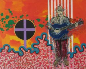 Auferstehung, Öl und Acryl auf Leinwand, 2013