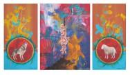 Der Gepfählte, Triptychon, 2013