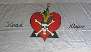 Knast und Klapse Fahne